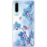Силиконовый чехол BoxFace Huawei P30 Orchids (936852-rs16)