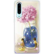 Силиконовый чехол BoxFace Huawei P30 Little Boy and Girl (936852-rs18)