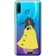 Силиконовый чехол BoxFace Huawei P30 Lite Just a Girl (36872-cc60)