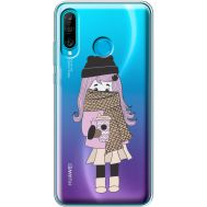 Силиконовый чехол BoxFace Huawei P30 Lite Winter Morning Girl (36872-cc61)