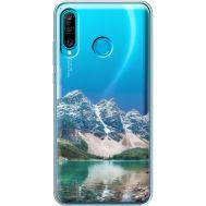 Силиконовый чехол BoxFace Huawei P30 Lite Blue Mountain (36872-cc68)