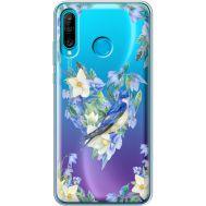 Силиконовый чехол BoxFace Huawei P30 Lite Spring Bird (36872-cc96)