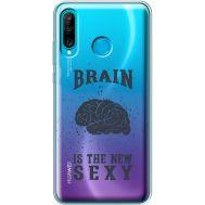 Силиконовый чехол BoxFace Huawei P30 Lite Sexy Brain (36872-cc47)
