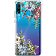 Силиконовый чехол BoxFace Huawei P30 Lite Floral (36872-cc54)