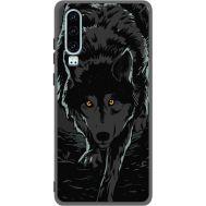 Силиконовый чехол BoxFace Huawei P30 Wolf (37049-bk62)