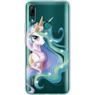 Силиконовый чехол BoxFace Huawei P Smart Z Unicorn Queen (937382-rs3)