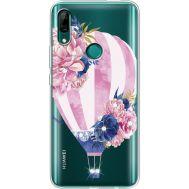 Силиконовый чехол BoxFace Huawei P Smart Z Pink Air Baloon (937382-rs6)
