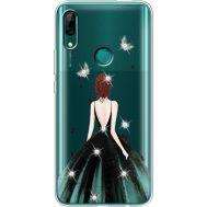 Силиконовый чехол BoxFace Huawei P Smart Z Girl in the green dress (937382-rs13)