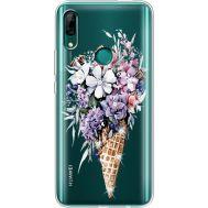 Силиконовый чехол BoxFace Huawei P Smart Z Ice Cream Flowers (937382-rs17)