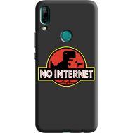 Силиконовый чехол BoxFace Huawei P Smart Z No Internet (38944-bk69)