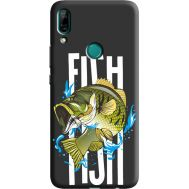 Силиконовый чехол BoxFace Huawei P Smart Z Fish (38944-bk71)