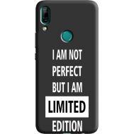 Силиконовый чехол BoxFace Huawei P Smart Z limited edition (38944-bk73)