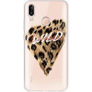 Силиконовый чехол BoxFace Huawei P20 Lite Wild Love (34991-cc64)