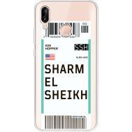 Силиконовый чехол BoxFace Huawei P20 Lite Ticket Sharmel Sheikh (34991-cc90)