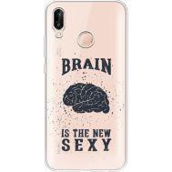 Силиконовый чехол BoxFace Huawei P20 Lite Sexy Brain (34991-cc47)