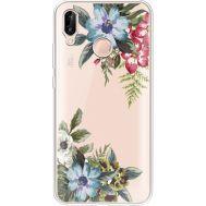 Силиконовый чехол BoxFace Huawei P20 Lite Floral (34991-cc54)
