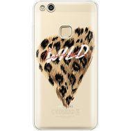 Силиконовый чехол BoxFace Huawei P10 Lite Wild Love (35957-cc64)