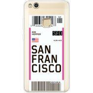 Силиконовый чехол BoxFace Huawei P10 Lite Ticket San Francisco (35957-cc79)