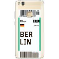 Силиконовый чехол BoxFace Huawei P10 Lite Ticket Berrlin (35957-cc80)