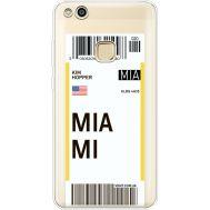 Силиконовый чехол BoxFace Huawei P10 Lite Ticket Miami (35957-cc81)