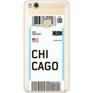 Силиконовый чехол BoxFace Huawei P10 Lite Ticket Chicago (35957-cc82)