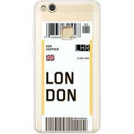 Силиконовый чехол BoxFace Huawei P10 Lite Ticket London (35957-cc83)
