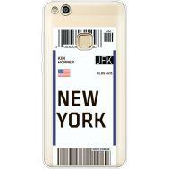 Силиконовый чехол BoxFace Huawei P10 Lite Ticket New York (35957-cc84)