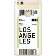 Силиконовый чехол BoxFace Huawei P10 Lite Ticket Los Angeles (35957-cc85)