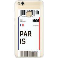 Силиконовый чехол BoxFace Huawei P10 Lite Ticket Paris (35957-cc86)