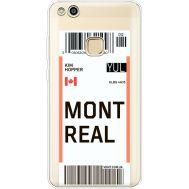 Силиконовый чехол BoxFace Huawei P10 Lite Ticket Monreal (35957-cc87)