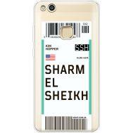 Силиконовый чехол BoxFace Huawei P10 Lite Ticket Sharmel Sheikh (35957-cc90)