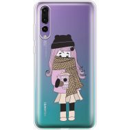 Силиконовый чехол BoxFace Huawei P20 Pro Winter Morning Girl (36195-cc61)