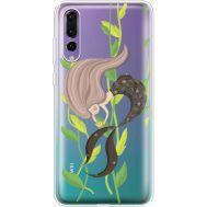Силиконовый чехол BoxFace Huawei P20 Pro Cute Mermaid (36195-cc62)