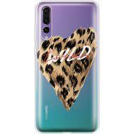 Силиконовый чехол BoxFace Huawei P20 Pro Wild Love (36195-cc64)