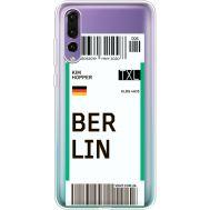 Силиконовый чехол BoxFace Huawei P20 Pro Ticket Berrlin (36195-cc80)