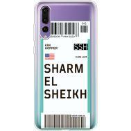Силиконовый чехол BoxFace Huawei P20 Pro Ticket Sharmel Sheikh (36195-cc90)