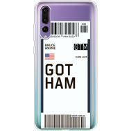 Силиконовый чехол BoxFace Huawei P20 Pro Ticket Gotham (36195-cc92)