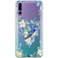 Силиконовый чехол BoxFace Huawei P20 Pro Spring Bird (36195-cc96)