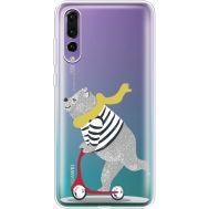 Силиконовый чехол BoxFace Huawei P20 Pro Happy Bear (36195-cc10)