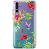 Силиконовый чехол BoxFace Huawei P20 Pro Tropical (36195-cc25)