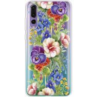 Силиконовый чехол BoxFace Huawei P20 Pro Summer Flowers (36195-cc34)