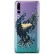 Силиконовый чехол BoxFace Huawei P20 Pro Eagle (36195-cc52)