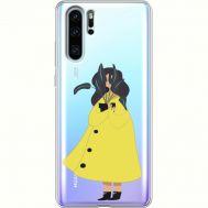 Силиконовый чехол BoxFace Huawei P30 Pro Just a Girl (36856-cc60)
