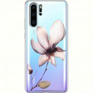 Силиконовый чехол BoxFace Huawei P30 Pro Magnolia (36856-cc8)