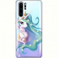 Силиконовый чехол BoxFace Huawei P30 Pro Unicorn Queen (936856-rs3)