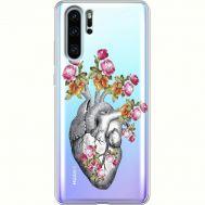 Силиконовый чехол BoxFace Huawei P30 Pro Heart (936856-rs11)