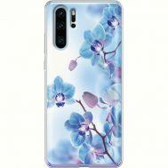Силиконовый чехол BoxFace Huawei P30 Pro Orchids (936856-rs16)