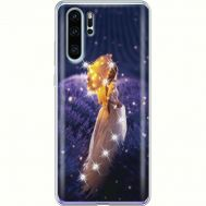 Силиконовый чехол BoxFace Huawei P30 Pro Girl with Umbrella (936856-rs20)