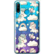 Силиконовый чехол BoxFace Huawei P30 Lite Unicorns (36872-cc2)