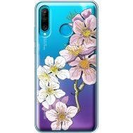 Силиконовый чехол BoxFace Huawei P30 Lite Cherry Blossom (36872-cc4)